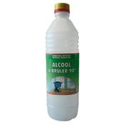 Alcool à bruler 90° 1L - Produits d'entretien - Nettoyants - Outillage - GEDIMAT
