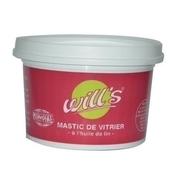 Mastic vitrier à l'huile de lin MONDIAL pot 1kg - Mastics - Peinture & Droguerie - GEDIMAT