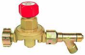 Détendeur propane variable 2 à 4 bar avec manomètre et sécurité - Soudure - Outillage - GEDIMAT