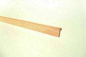 Parclose Pin des Landes sans nœud simple droite P40 long.2m - Moulures - Menuiserie & Aménagement - GEDIMAT