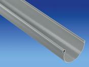 Gouttière PVC demi-ronde de 25 coloris gris long.4m - Plaque de plâtre standard PREGYPLAC BA15 ép15mm larg.1,20m long.2,80m - Gedimat.fr