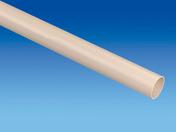 Tube de descente lisse PVC pour eaux pluviales diam.50mm long.2m coloris sable - Vitrage armé prédécoupé pour marquise fer Beaumont - Gedimat.fr