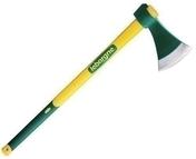 Hache tous usages 1,5kg manche droit Novagrip 90cm - Outillage du jardinier - Outillage - GEDIMAT