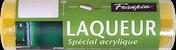 Manchon mousse floquée pour rouleau laqueur spécial acryl larg.180mm diam.35mm - Peinture murale séjour et chambre CREME DE COULEUR 0,5L acapulco - Gedimat.fr