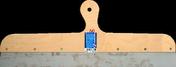Couteau à enduire projeté inox manche contreplaqué 7 plis long.60cm - Raccord de remplacement pour fenêtre VELUX sur ardoises EL SK06 type 0000 haut.1,18m larg.1,14m - Gedimat.fr