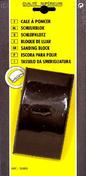 Cale à poncer matière caoutchoutée semelle forme buvard larg.6 - 5cm long.12 - 5cm - Enduit monocouche lourd grain moyen MONODECOR GM sac de 30kg coloris B83 - Gedimat.fr
