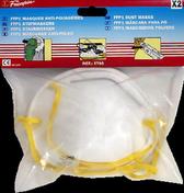 Masque anti poussières semi rigide FFP1 sachet de 2 pièces - Protection des personnes - Vêtements - Outillage - GEDIMAT