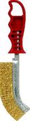 Brosse convexe métallique manche polypropylène 26cm rouge - Renovateur terrasses composites 2,5L - Gedimat.fr