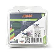 Agrafes galvanisées plastifiées vert OMEGA 20 boîte de 200 pièces - Contreplaqué tout Okoumé MARINE PLY ép.12mm larg.1,22m long.2,50m - Gedimat.fr