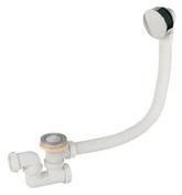 Vidage à câble standard + siphon long.600mm sac chromé - Vidages - Cuisine - GEDIMAT