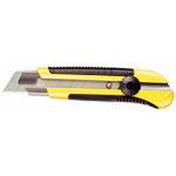 Cutter corps bi-matière DYNAGRIP guide inox lame 25mm - Seau de maçon caoutchouc PROCHOCK anse 6,4mm 12L noir - Gedimat.fr