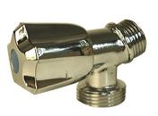 Robinet machine à laver équerre diam.15x21mm-20x27mm - Réducteur de pression spécial chauffe-eau mâle femelle avec écrou tournant 2500L/h 16 bars diam.20/27mm - Gedimat.fr