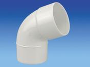 Coude PVC 67°30 MF diam.80mm blanc - Tubes et Raccords d'évacuation eau - Plomberie - GEDIMAT