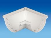 Angle intérieur/extérieur à coller 90° pour gouttière PVC 25 coloris blanc - Doublage polyuréthane SIS REVE SI ép.100+10mm larg.1.20m long.2,60m - Gedimat.fr