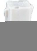 Douille de chantier nylon testeur d'installation culot baïonnette B22 en vrac 1 pièce - Fiches - Douilles - Adaptateurs - Electricité & Eclairage - GEDIMAT