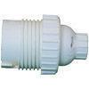 Douille électrique nylon culot B22 blanche simple bague - Fiches - Douilles - Adaptateurs - Electricité & Eclairage - GEDIMAT