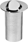 Bonde de lavabo à clapet laiton diam.75mm en laiton chromé - Pied de snack télescopique haut de 68 à 90cm coloris chromé - Gedimat.fr