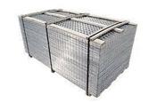 Treillis soudés carreleur maille 50x50mm fils 1.80mm panneau long.2m larg.1m - Poutre VULCAIN section 20x40 cm long.4,50m pour portée utile de 3,6 à 4,10m - Gedimat.fr