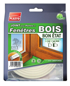 Joint caoutchouc profil E larg.9mm long.6m marron - Menuiseries - Pl�trier - Plaquiste - GEDIMAT