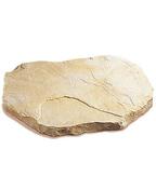 Pas japonais en pierre reconstituée BRADSTONE ép.4cm dim.56x42cm coloris Gironde - Pas japonais - Aménagements extérieurs - GEDIMAT
