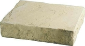 Marche MANOIR en pierre reconstituée d'aspect pierre de taille ép.15cm larg.35cm long.45cm coloris Gironde - Bloc béton à bancher pour vide-sanitaire VERTICOFFRE long.60cm haut.20cm ép.17cm - Gedimat.fr
