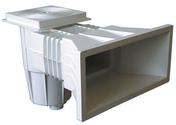 Skimmer grand modèle pour piscine béton - Raccord 2 pièces droit laiton/cuivre à écrou prisonnier diam.15x21mm pour tube diam.14mm 10 pièces - Gedimat.fr