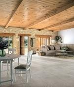 Plaquettes de parement en pierre reconstituée MANOIR coloris pierre - Plaquettes de parement en pierre reconstituée MANOIR coloris naturel - Gedimat.fr
