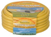 Tuyau d'arrosage tricoté TECHN'O jaune diam.19mm long.25m - Poutre en béton précontrainte PSS LEADER section 20x20cm long.5,80m - Gedimat.fr