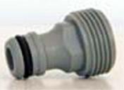 Adaptateur automatique mâle en plastique diam.20X27mm en carte - Tuile châtière 16x38 une piece coloris vieilli masse - Gedimat.fr
