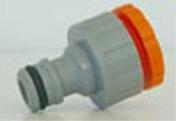 Nez de robinet automatique femelle en plastique diam.15X21mm - Tuyaux d'arrosage - Aménagements extérieurs - GEDIMAT