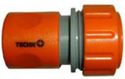 Raccord coupleur d'arrosage plastique automatique diam.19mm sous blister de 2 pièces - Tuyaux d'arrosage - Aménagements extérieurs - GEDIMAT