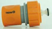 Raccord plastique automatique coupe-eau diam.19mm en vrac - Tuyaux d'arrosage - Aménagements extérieurs - GEDIMAT