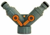 Selecteur 2 directions en plastique automatique pour tuyau diam.15/19mm sous carte - Douille de chantier nylon testeur d'installation culot baïonnette B22 en vrac 1 pièce - Gedimat.fr