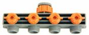 Selecteur 4 directions en plastique automatique pour tuyau diam.15/19mm sous carte - Tablette mélaminée ép.18mm larg.30cm long.0,80m Chêne de Turner finition Mat - Gedimat.fr