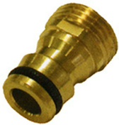 Nez de robinet automatique mâle en laiton diam.10x27mm - Tuyaux d'arrosage - Plein air & Loisirs - GEDIMAT