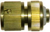 Raccord laiton automatique diam.19mm en carte - Tuyaux d'arrosage - Plein air & Loisirs - GEDIMAT
