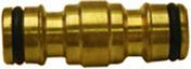 Accoupleur automatique en laiton - Tuyaux d'arrosage - Plein air & Loisirs - GEDIMAT