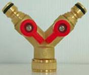 Selecteur 2 directions en laiton automatique pour tuyau diam.15/19mm sous carte - Tuyaux d'arrosage - Plein air & Loisirs - GEDIMAT