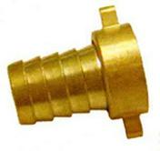 Raccord 2 pouces en laiton avec collier diam.19mm pour robinet fileté mâle 26x34mm en carte - Tuyaux d'arrosage - Plein air & Loisirs - GEDIMAT