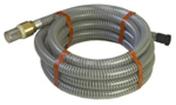 Kit d'aspiration diam.25mm tuyau de 7m - Poutre VULCAIN section 20x65 cm long.5,00m pour portée utile de 4,1 à 4,60m - Gedimat.fr