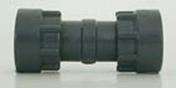 Manchon union PVC mâle femelle à écrou tournant diam.26x34mm en vrac 1 pièce - Arrosages enterrés - Aménagements extérieurs - GEDIMAT