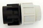 Raccord polypropylène droit pour tuyau polyéthylène Plasson diam.20mm sortie femelle diam.20x27mm en vrac 1 pièce - Arrosages enterrés - Aménagements extérieurs - GEDIMAT