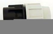 Raccord polypropylène droit pour tuyau polyéthylène Plasson diam.25mm sortie femelle diam.20x27mm en vrac 1 pièce - Arrosages enterrés - Aménagements extérieurs - GEDIMAT
