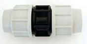 Manchon polypropylène égal pour tuyau polyéthylène Plasson diam.20mm en vrac 1 pièce - Arrosages enterrés - Aménagements extérieurs - GEDIMAT