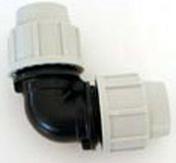 Coude polypropylène pour tuyau polyéthylène Plasson femelle femelle égal diam.25mm en vrac 1 pièce - Cisaille grignoteuse NR1 TP - Gedimat.fr