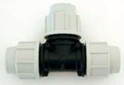 Té polypropylène égal femelle femelle pour tuyau polyéthylène Plasson diam.25mm en vrac 1 pièce - Mortier de façade COLORCHAUSABLE EF sac 35kg teinte 021 - Gedimat.fr