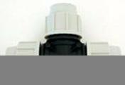 Té polypropylène égal femelle femelle pour tuyau polyéthylène Plasson diam.32mm en vrac 1 pièce - Arrosages enterrés - Aménagements extérieurs - GEDIMAT