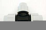 Té polypropylène réduit pour tuyau polyéthylène Plasson diam.25mm réduit diam.20mm en vrac 1 pièce - Arrosages enterrés - Aménagements extérieurs - GEDIMAT