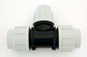Té polypropylène réduit pour tuyau polyéthylène Plasson diam.32mm réduit diam.25mm en vrac 1 pièce - Mortier de façade COLORCHAUSABLE EF sac 35kg teinte 021 - Gedimat.fr