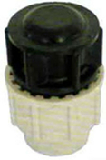 Bouchon polypropylène pour tuyau polyéthylène Plasson diam.40mm en vrac 1 pièce - Arrosages enterrés - Aménagements extérieurs - GEDIMAT